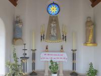 St. Barbara-Kapelle innen